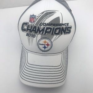NFL Steelers Conference Champions 2010 Hat NWOT